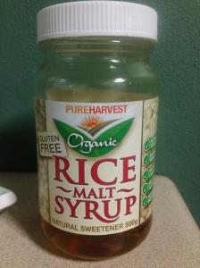 Rice Malt Syrup - Absolute superstar!