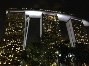 The Marina Bay Sands!