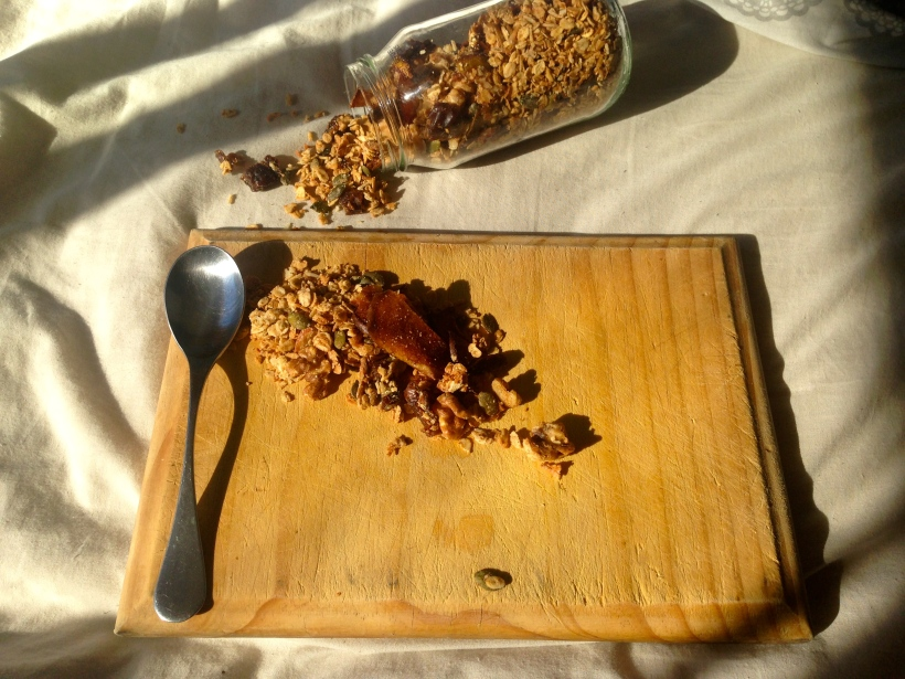 Yep, did get granola all through my bed!